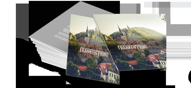 Visitenkarten Erstellen Und Drucken In Franken Und